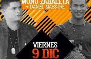 El 9 de Diciembre lanzamiento del nuevo álbum del Mono Zabaleta y Daniel Maestre