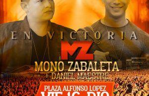 """16 de Noviembre lanzamiento en vivo de """"En victoria"""" lo nuevo del Mono Zabaleta y Daniel Maestre"""