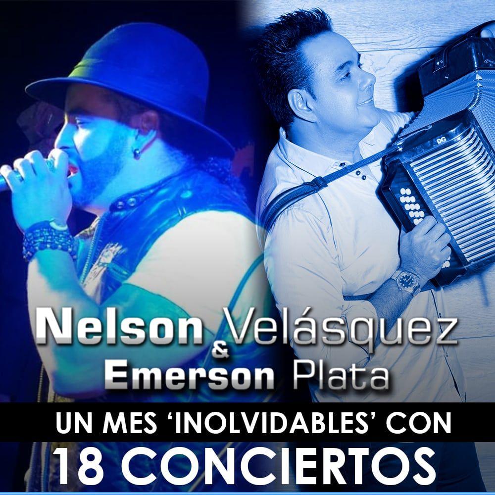 Nelsón Velásquez un mes 'Inolvibles'con 18 conciertos
