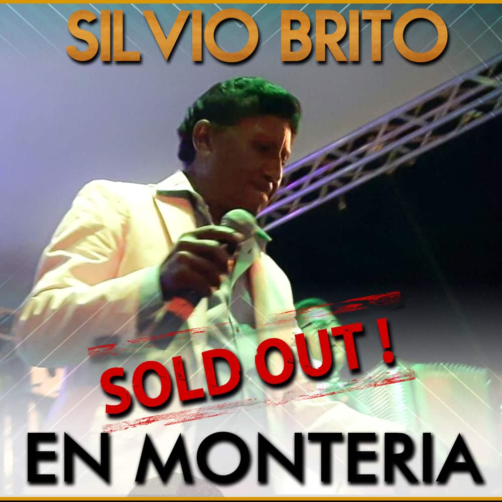 Silvio Brito Sold Out en Montería