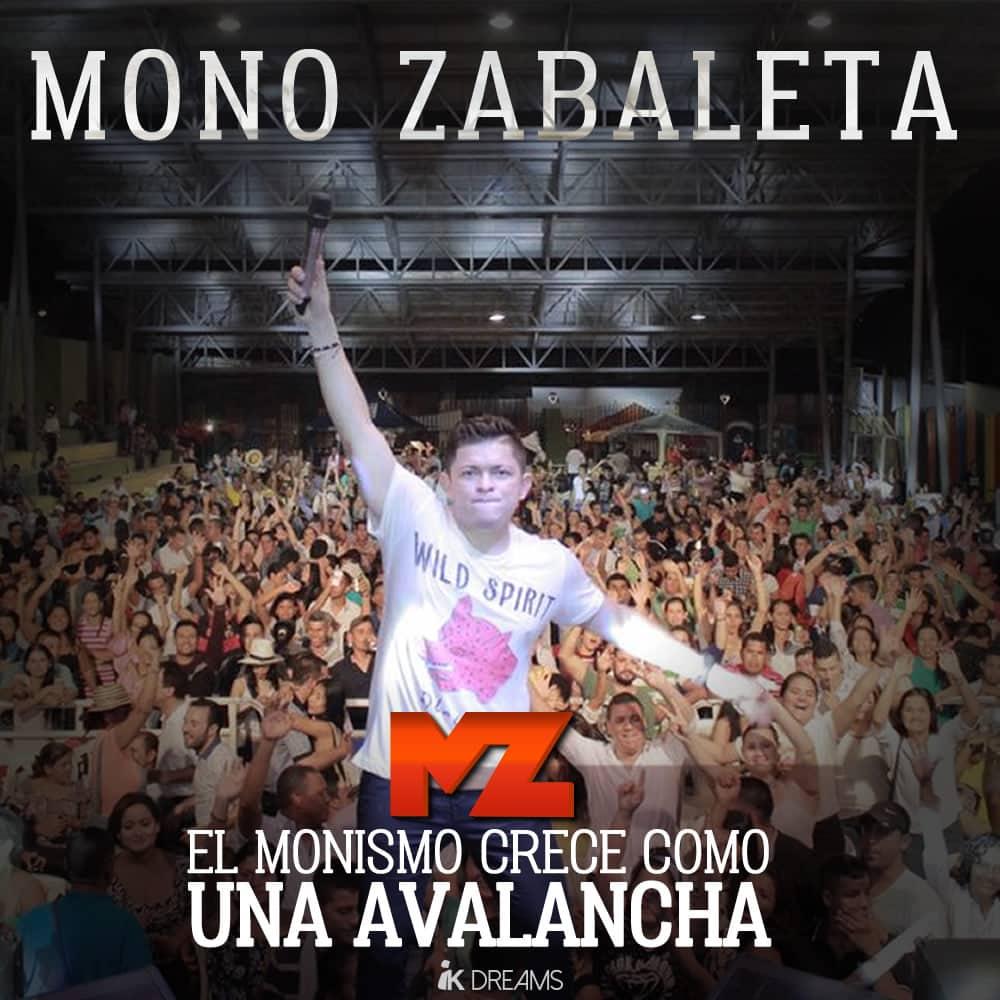 Mono Zabaleta crece como una avalancha