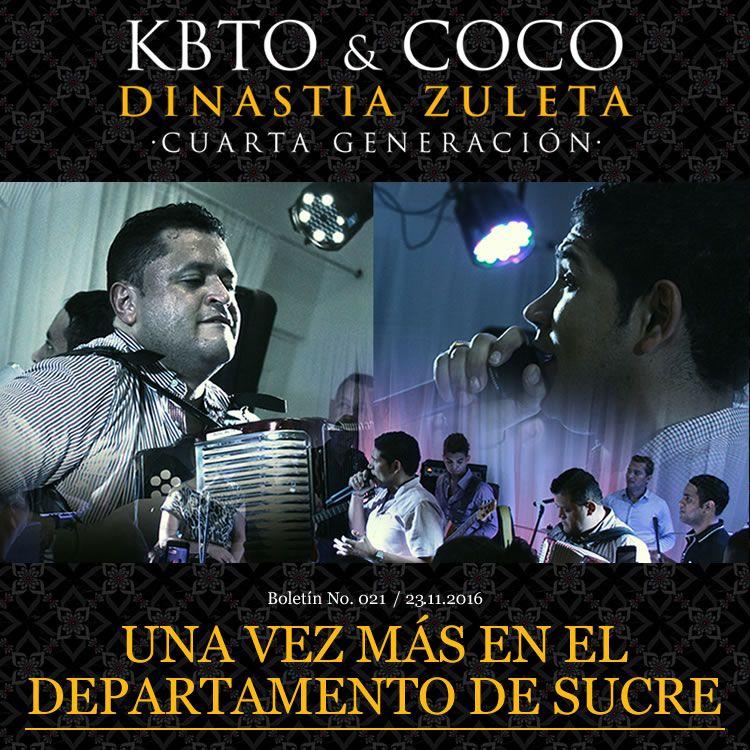 Kbeto Zuleta & Coco Zuleta una vez más en el departamento de Sucre