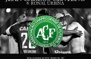 Jean Carlos Centeno & Ronal lamentan tragedia del Chapecoense