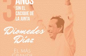 Tres años sin Diomedes Díaz gran homenaje