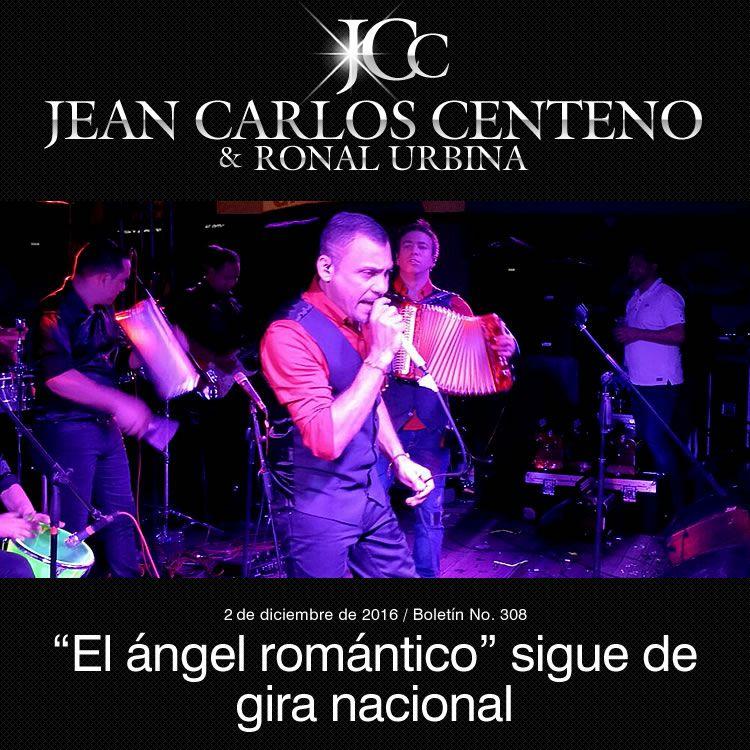 """""""El ángel romántico"""" Jean Carlos Centeno sigue de gira nacional"""