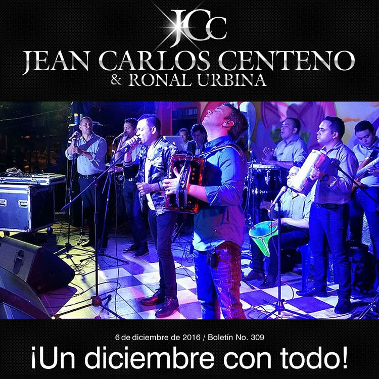 ¡JEAN CARLOS CENTENO, un diciembre con todo!
