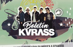 El Grupo Kvrass lleva su música a Ecuador