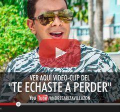 Te echaste a perder Andrés Ariza Villazón