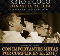 Kbeto Zuleta & Coco Zuleta con importantes metas por cumplir en el 2017