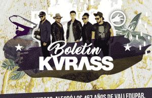 Grupo Kvrass alegró los 465 años de Valledupar