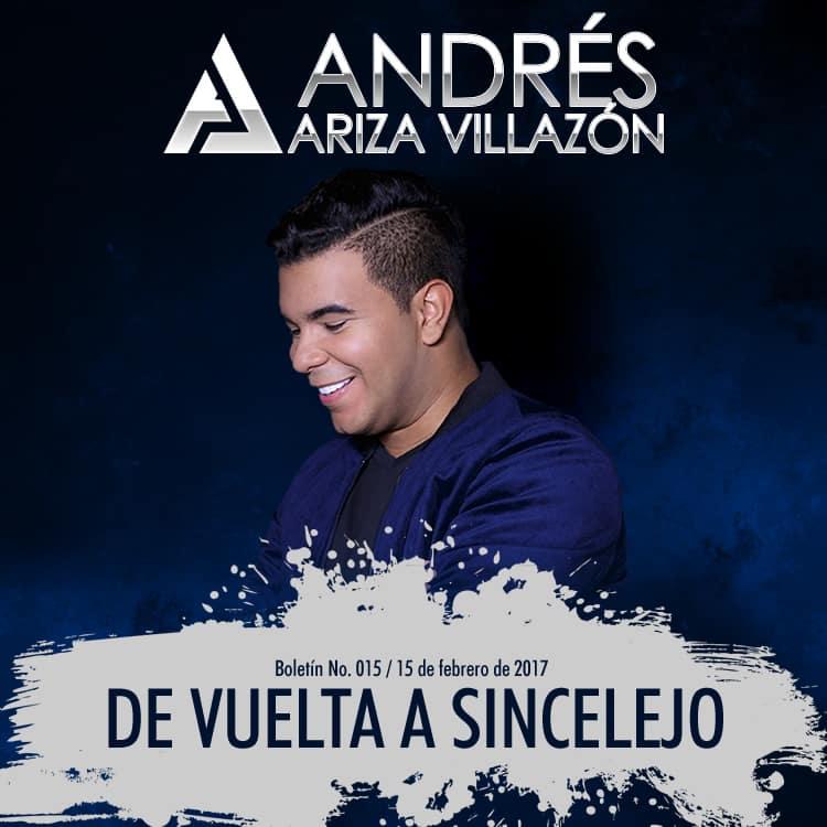 Andrés Ariza Villazón de vuelta a Sincelejo