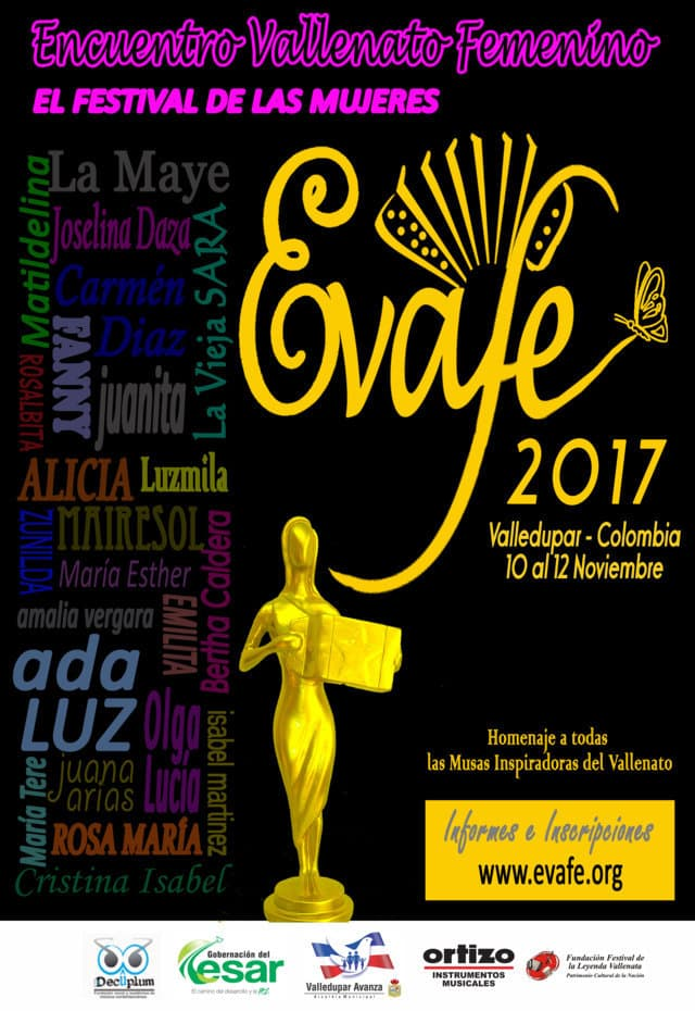El Segundo Encuentro Vallenato Femenino, el Festival de las Mujeres, abre convocatorias para las concursantes de este año