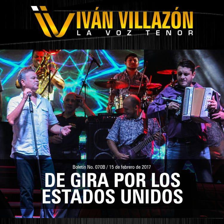Iván Villazón de gira por los Estados Unidos