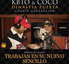 KBTO & COCO trabajan en su nuevo sencillo