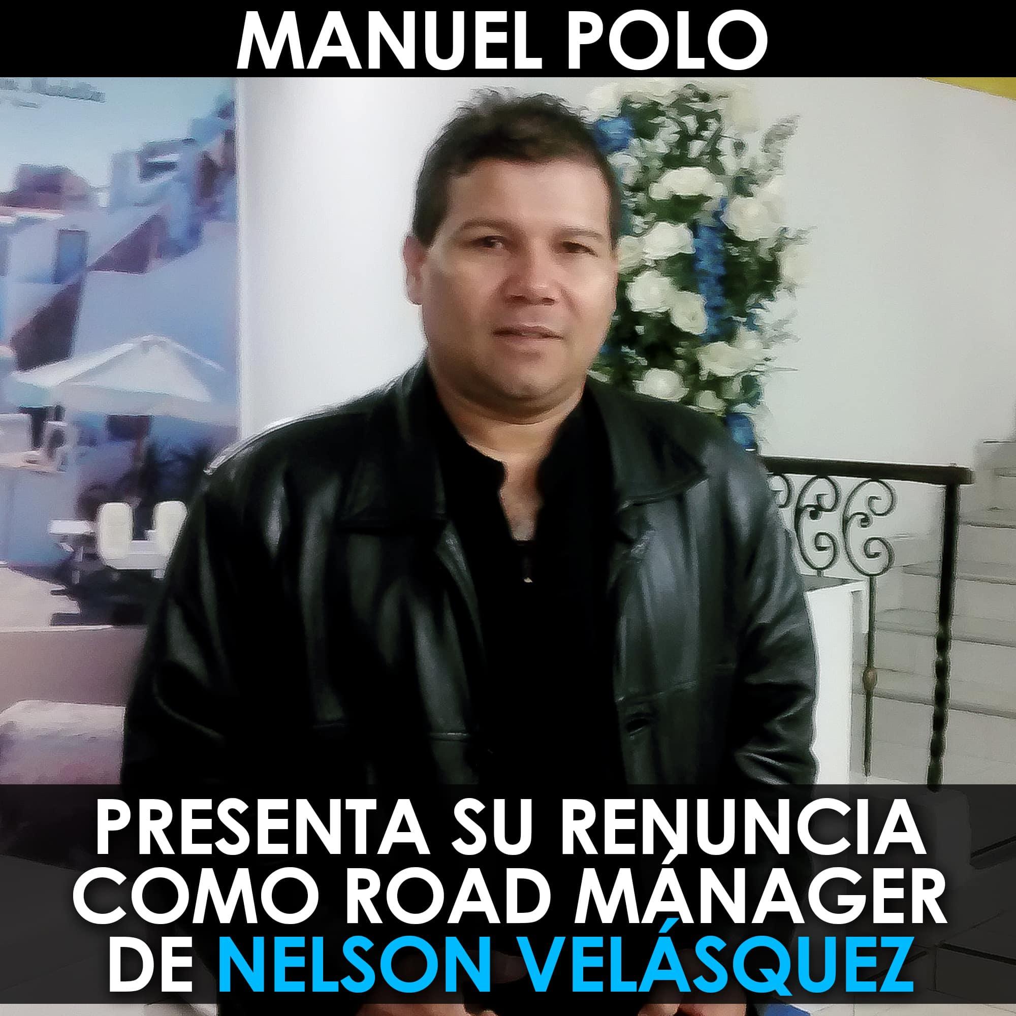 Manuel Polo renuncia. av