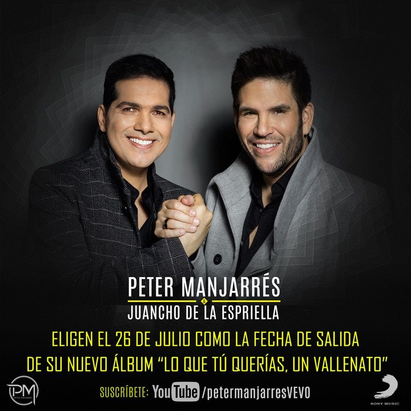 Lo que tu querias un vallenato, Peter Manjarres