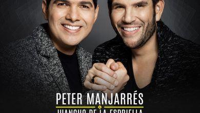 Peter Manjarrés y Juancho de la Espriella en el concierto de amor y amistas