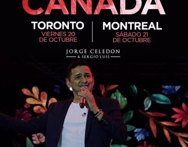 Jorge Celedón de Gira en Canada via @Vallenatoalcien