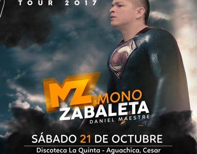 Mono Zabaleta de Halloween en Aguachica