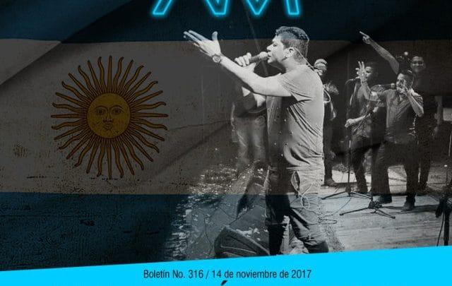 Alex Manga cada vez más fuerte en Argentina