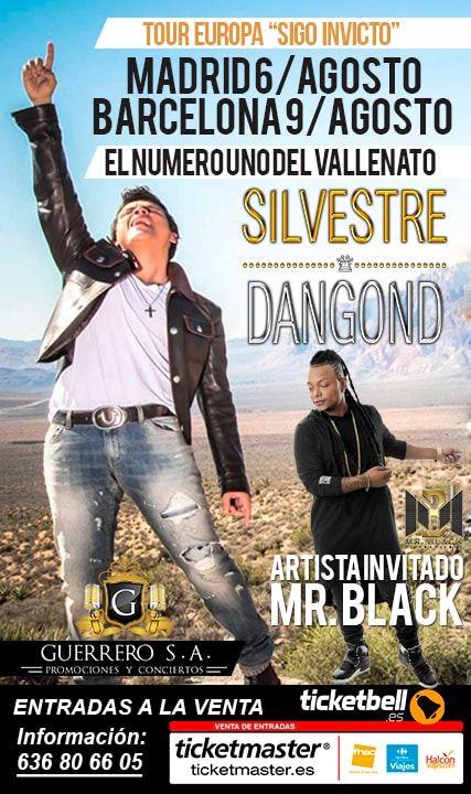 Tour Europa 2015 Silvestre Dangond