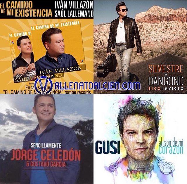 Nominados al grammy 2015 vallenato