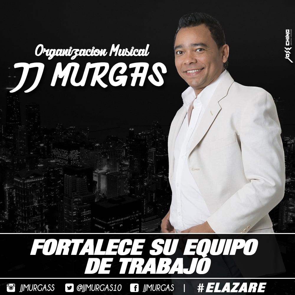 JJ Murgas fortalece su equipo de trabajo