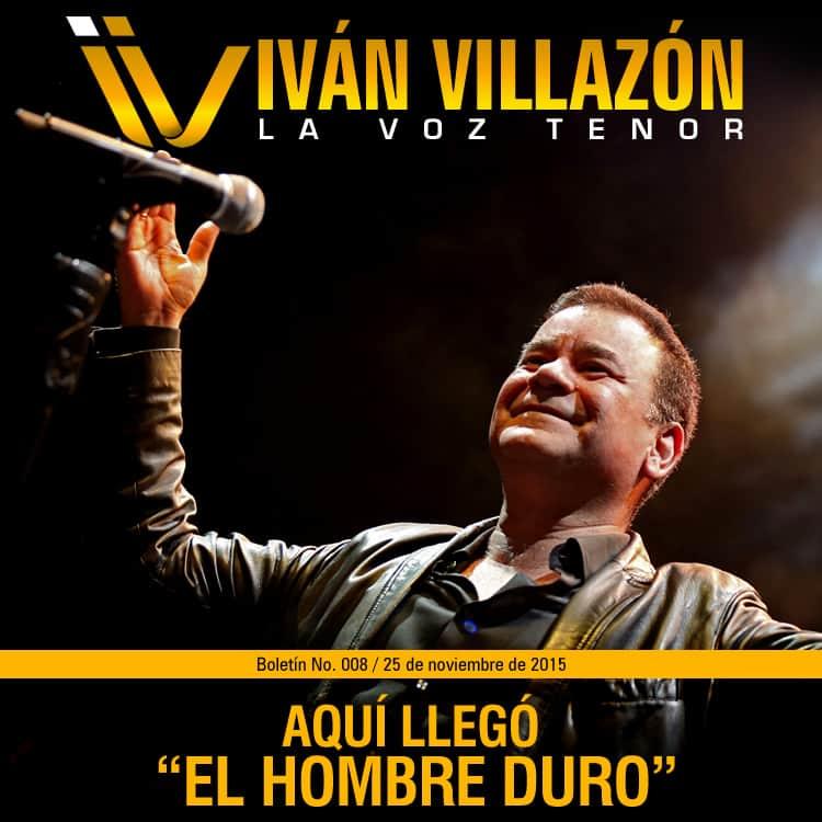 El hombre duro Ivan Villazon