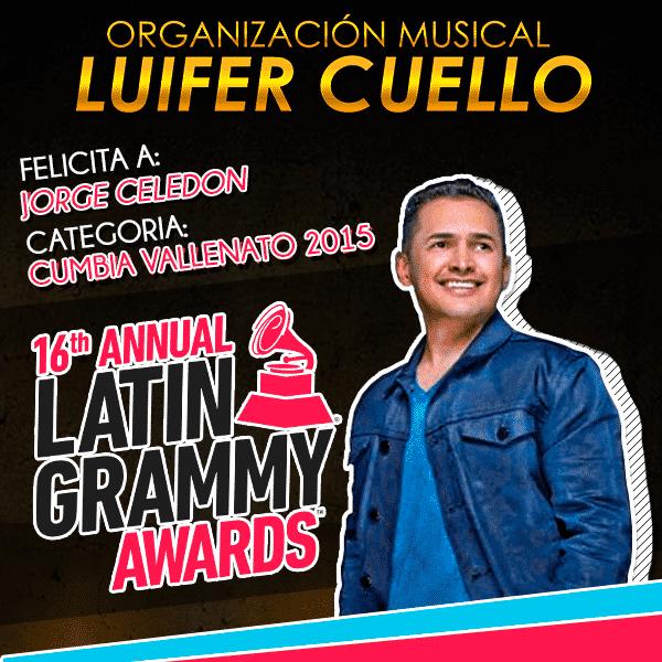 Jorge Celedon Ganador del Grammy Latino