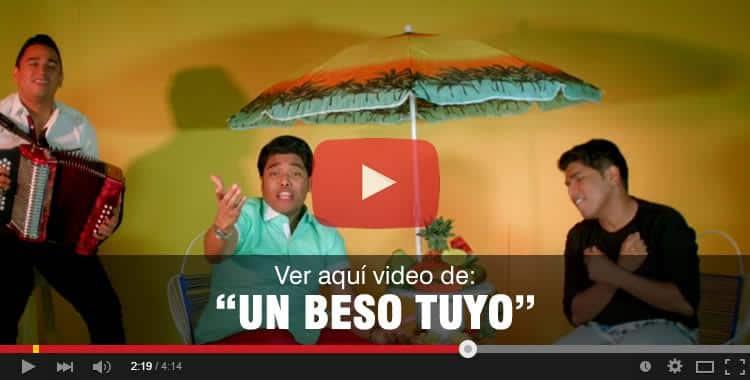 Un beso tuyo vídeo oficial Los K Morales