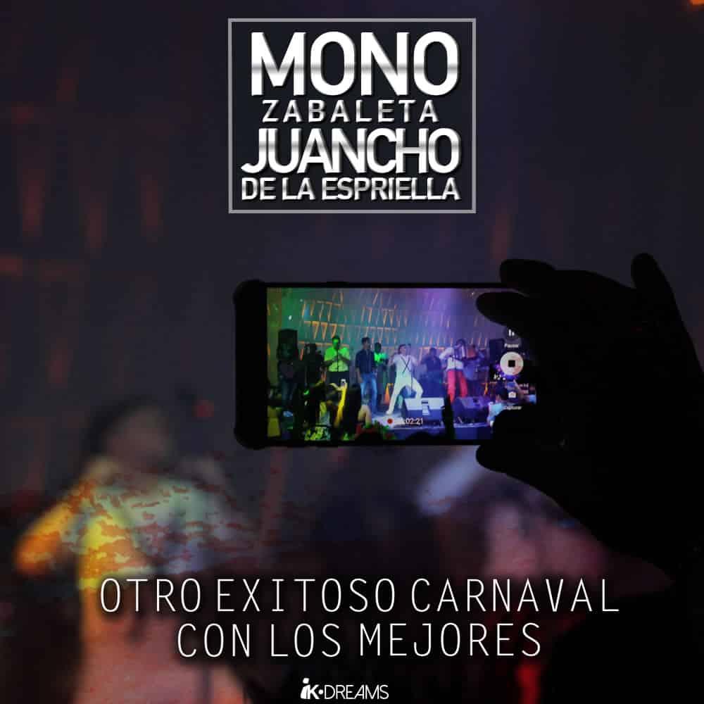 Exitosos el Mono Zabaleta y Juancho de la Espriella en Carnavales