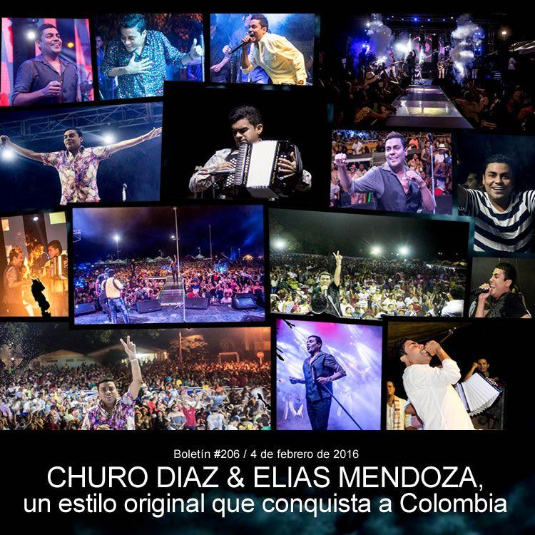 CHURO DIAZ & ELIAS MENDOZA, un estilo original que conquista a Colombia