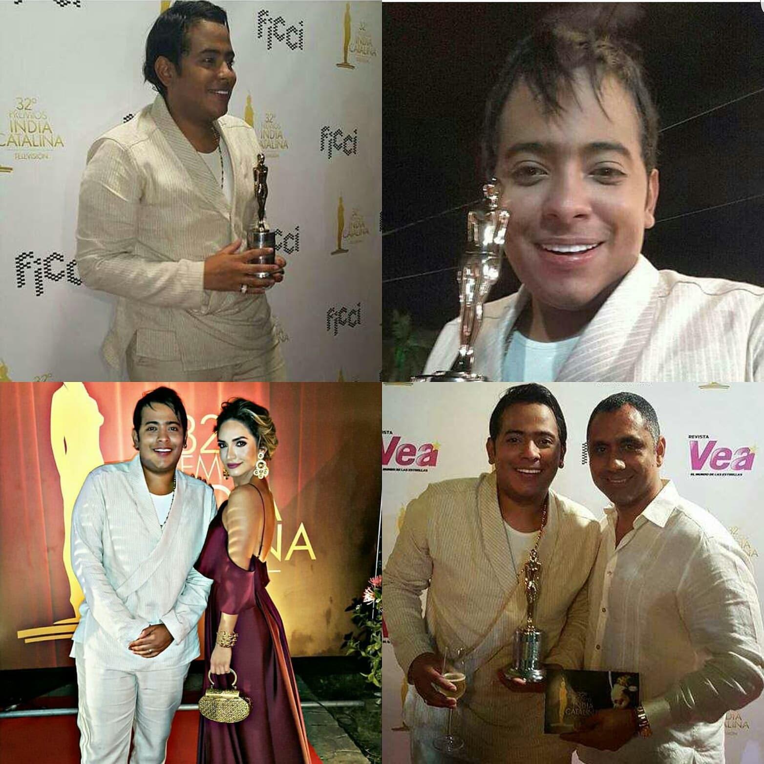 Orlando Liñan:Mi gente este premio India Catalina es de ustedes