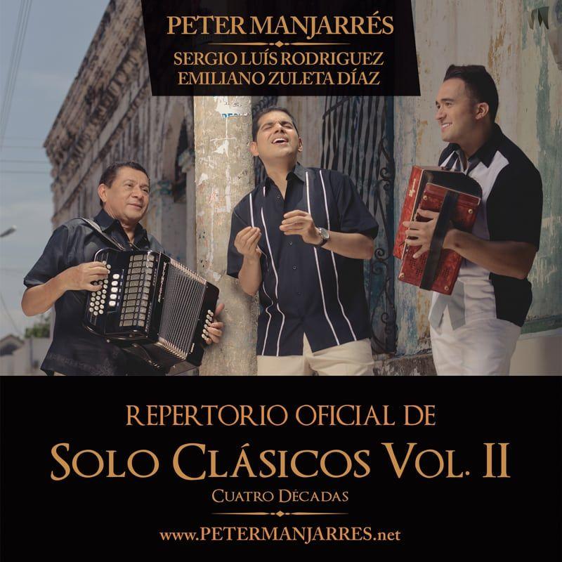 Solo Clásicos vol.2 cuatro décadas Peter Manjarres