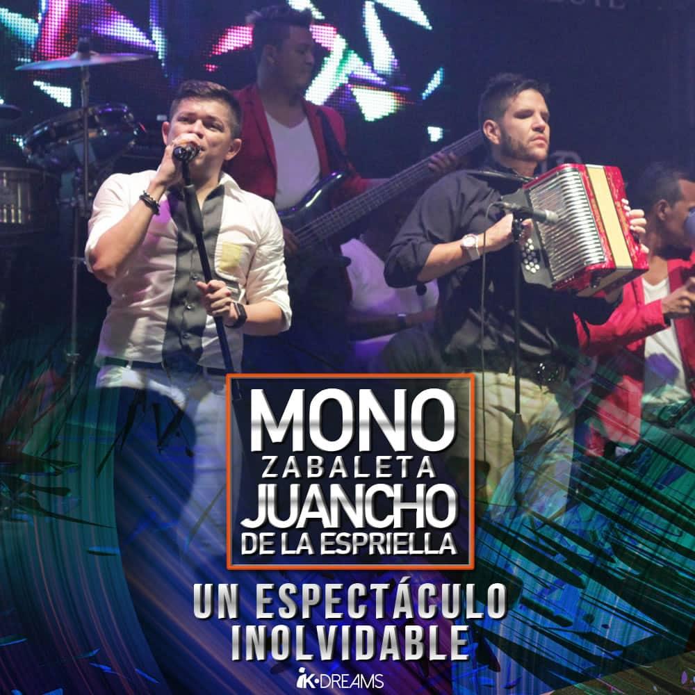Mono Zabaleta y Juancho de la Espriella un espectáculo inolvidable