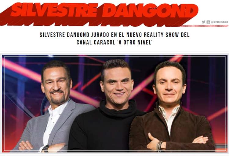 """Silvestre Dangond jurado en el nuevo reality show """"A otro nivel"""""""