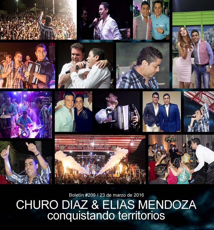 Churo Diaz & Elias Mendoza conquistando territorios