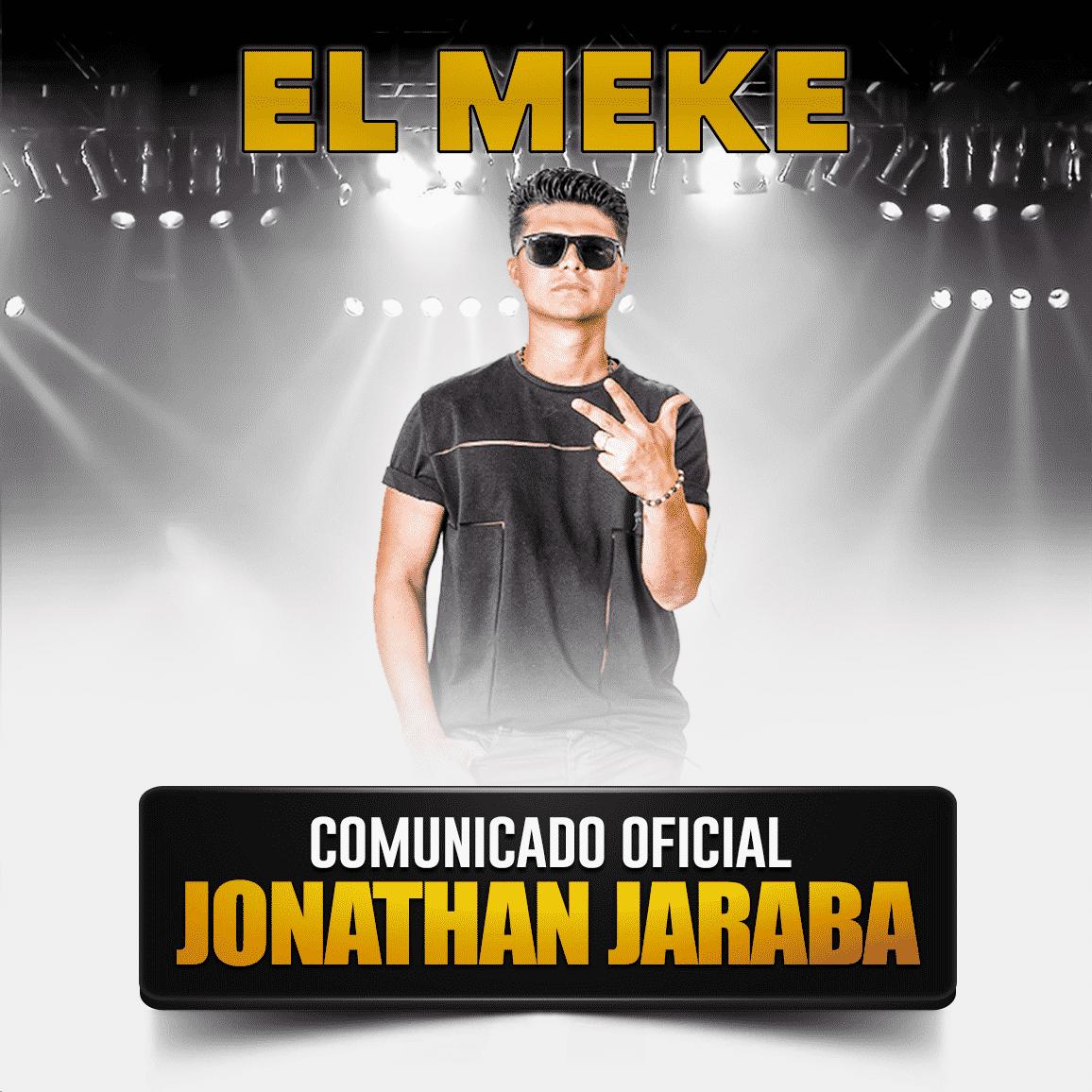 comunicado oficial Jonathan Jaraba