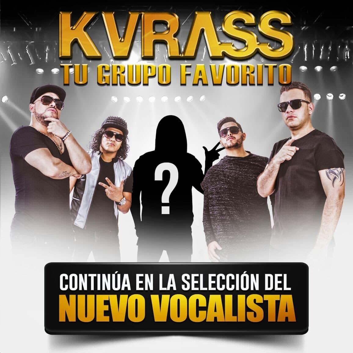 Grupo Kvrass continúa en La Selección del nuevo vocalista