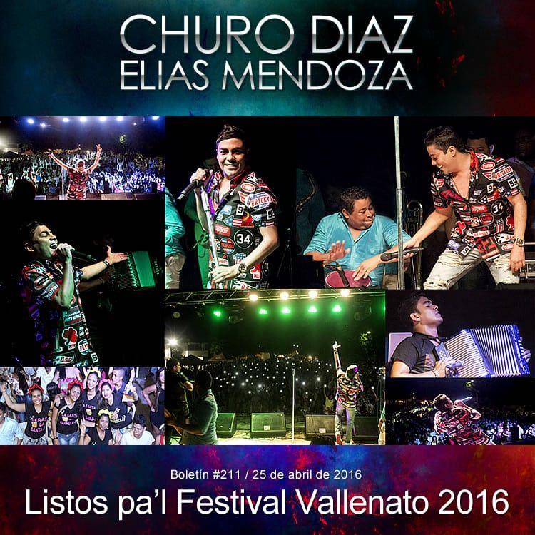 Churo Diaz & Elias Mendoza listos pa'l Festival Vallenato 2016