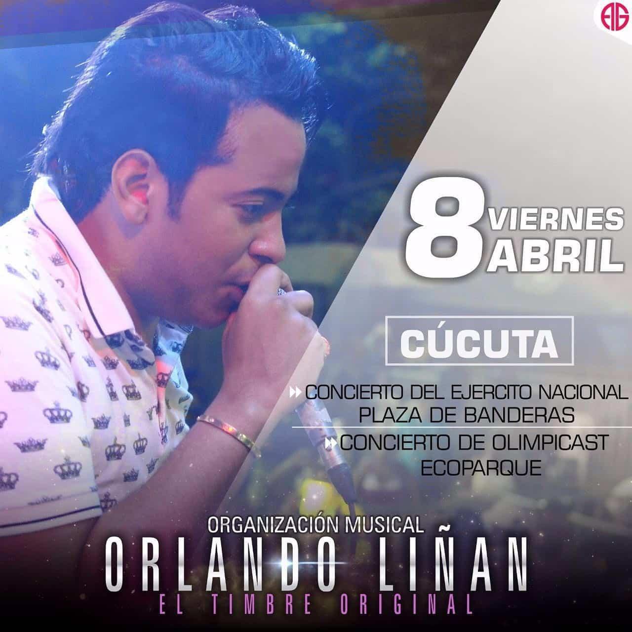 Orlando Liñan en Cucuta