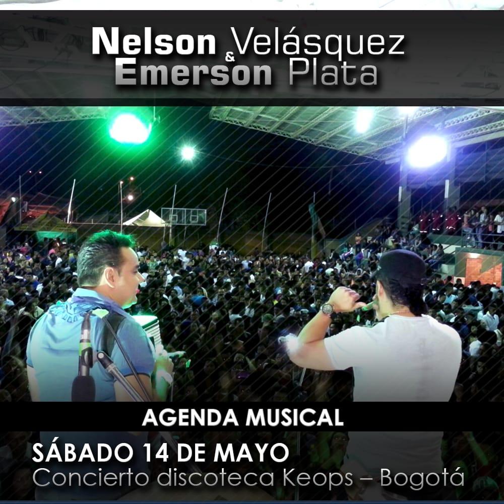 Nelson Velásquez & Emerson Plata en Bogotá