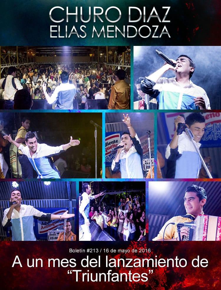 """Churo Diaz & Elias Mendoza a un mes del lanzamiento de """"Triunfantes"""""""