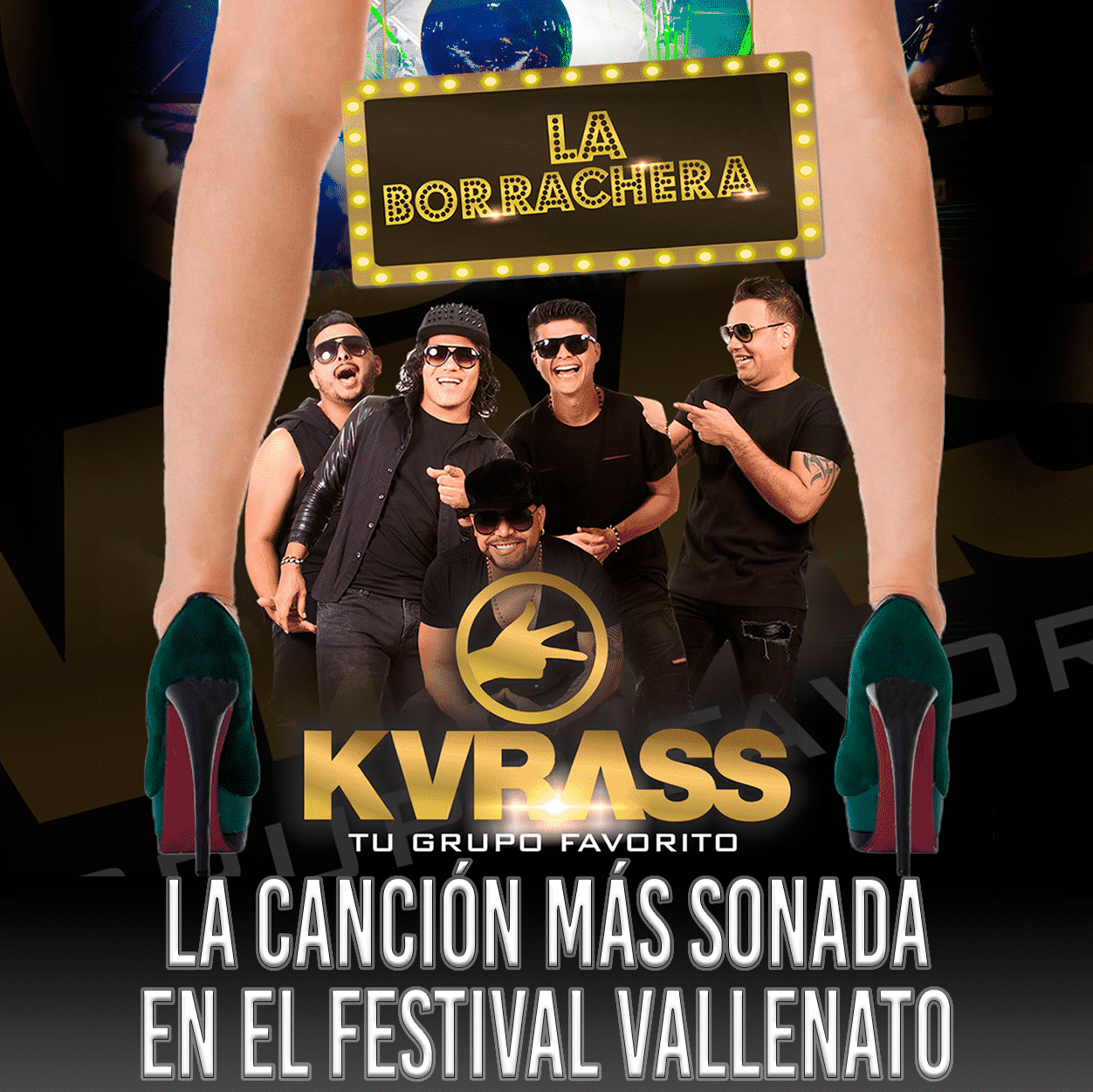 Grupo Kvrass La Borrachera, Canción Más Sonada En El Festival Vallenato