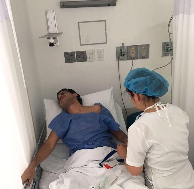 Martín Elías hospitalizado de Urgencia en Bogotá
