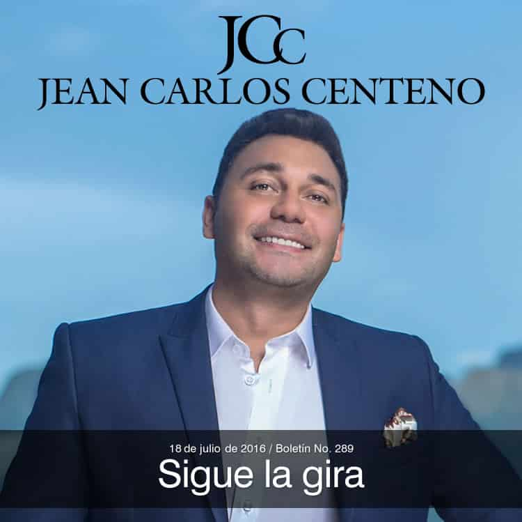 Jean Carlos Centeno sigue la gira