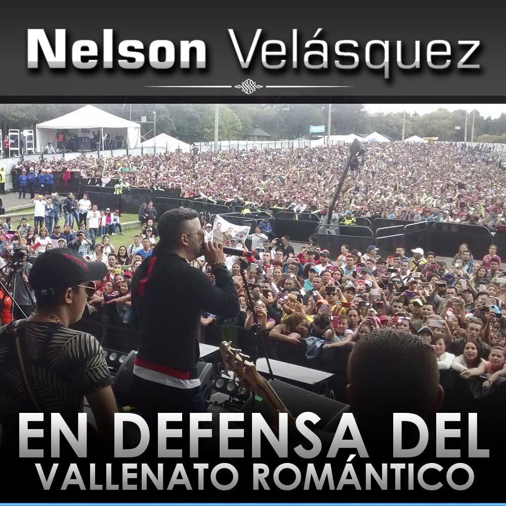 Nelson Velásquez en defensa del vallenato romántico