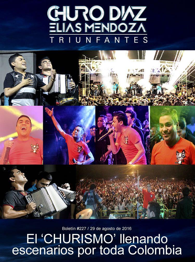 El 'CHURISMO' llenando escenarios por toda Colombia