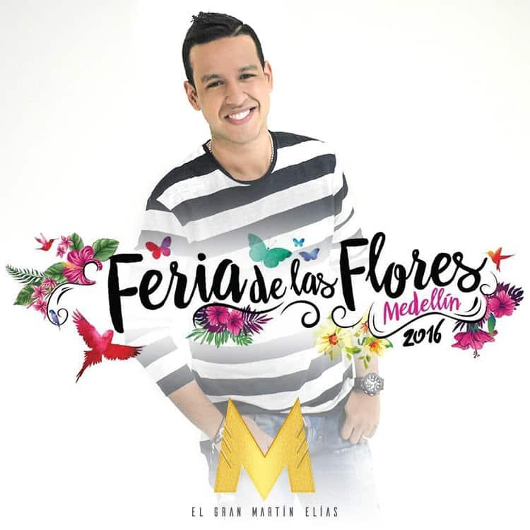 Martin Elias en la Feria de las Flores