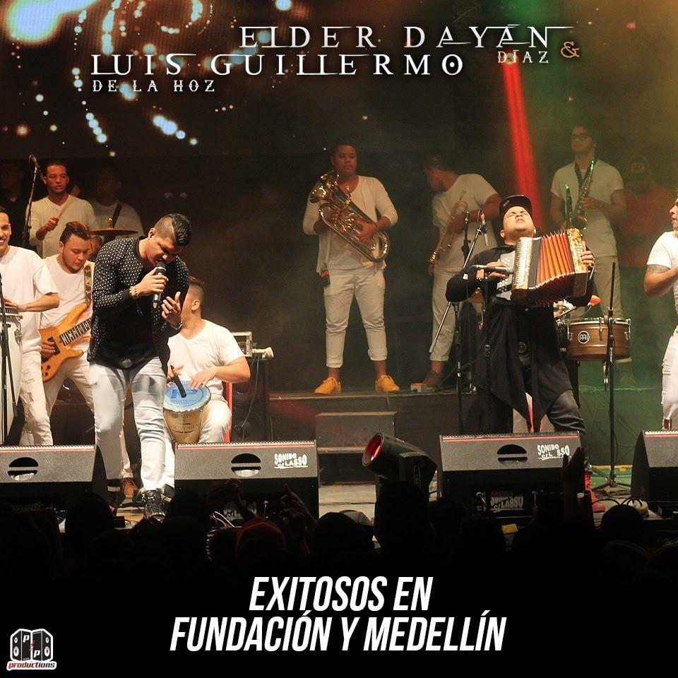 Elder Diaz y Luis Guillermo de la Hoz exitosos en Fundación y Medellín